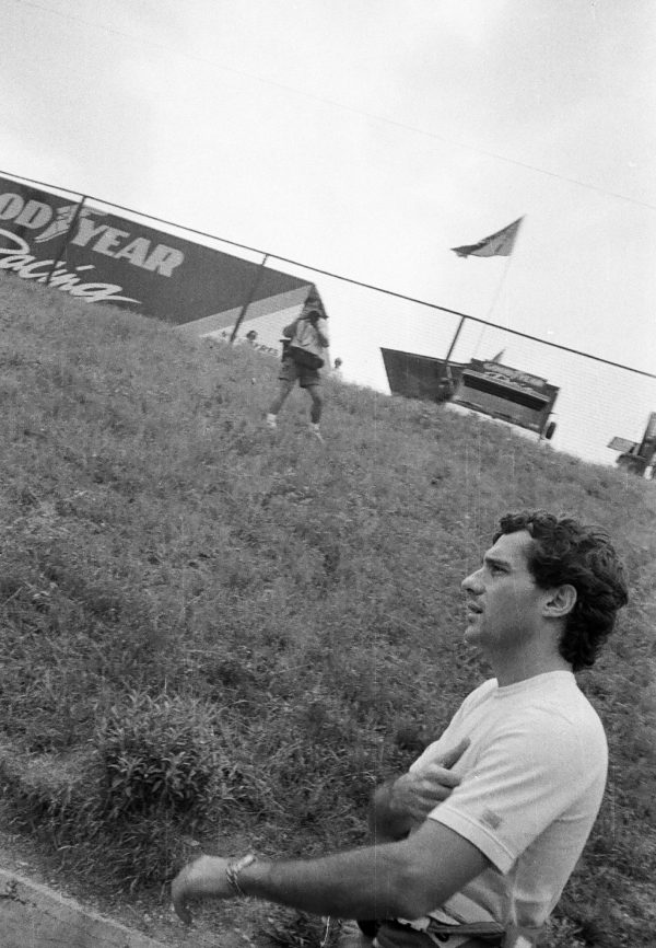 """After retiring from the Aida race Senna stood trackside. He later told close associates Schumacher's car sounded """"different"""". The book investigates…"""