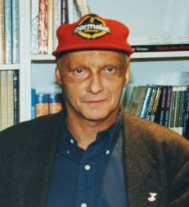 Lauda was an advocate of safety, not least because he was lucky to survive a fiery crash in 1976. After Senna's death, it was Lauda who became GPDA spokesman.